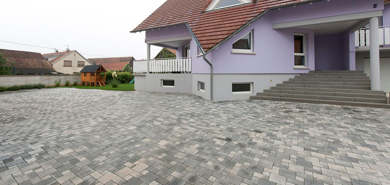 Rechteck- & Quadratpflaster