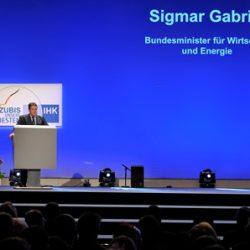 DIHK Bestenehrung 2014 Siegmar Gabriel