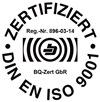 DIN EN ISO 9001 Logo